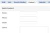 Facebook Contact Form