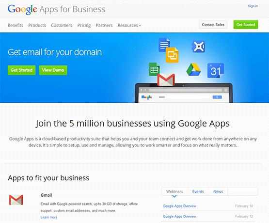 Google Business Apps