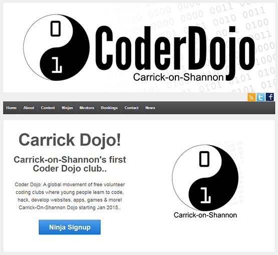 Carrick-on-Shannon Coder Dojo