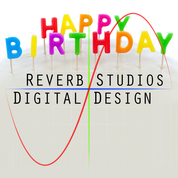Reverb Studios Design 10 Years Old Today!