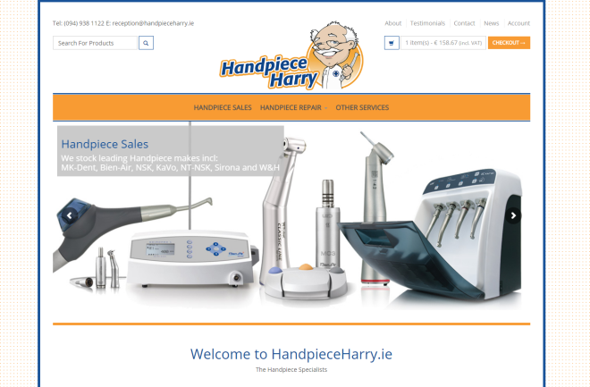 Handpiece Harry
