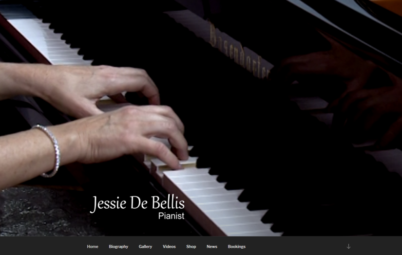 New Website for Jessie De Bellis