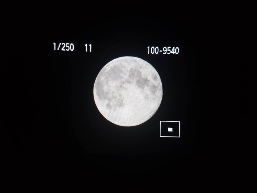 Photographing The Moon with a DSLR